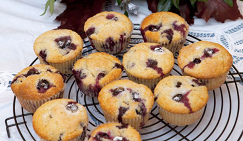 Muffin ai mirtilli – Un\'americana in cucina