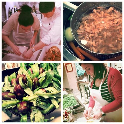 Cooking at the Epicurean institute
