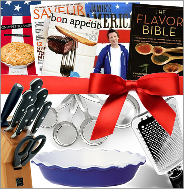 Regali di Natale per una cucina americana