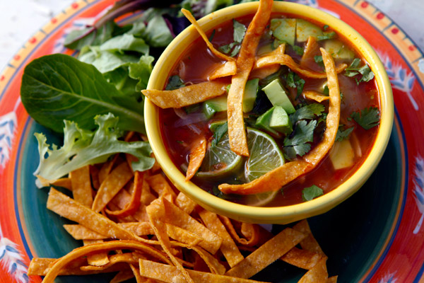 On Returning, and Mexican Tortilla Soup
