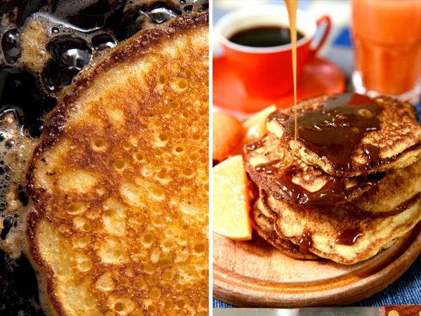 Newfangled Johnnycakes, or Polenta Pancakes