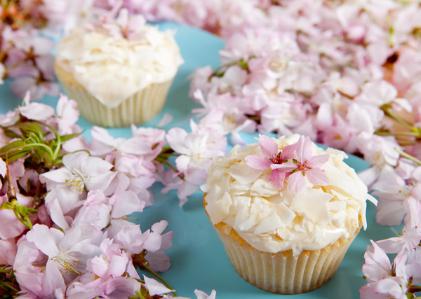 Easter Lambycakes, or Coconut Cupcakes