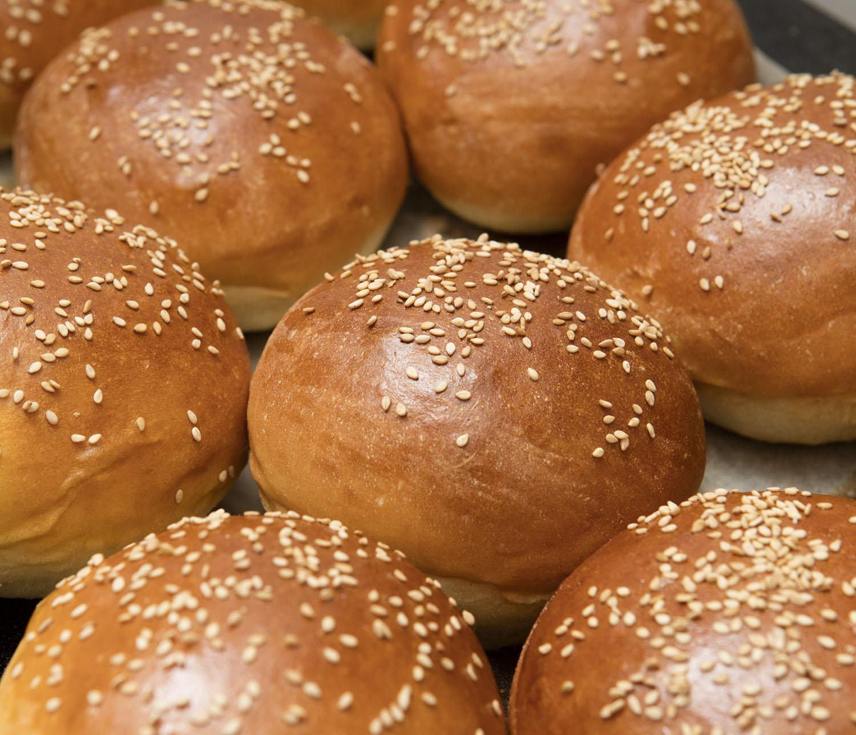 Ricetta Hamburger Panino.Best Burger Buns Panini Per Hamburger Fatti In Casa Un Americana In Cucina