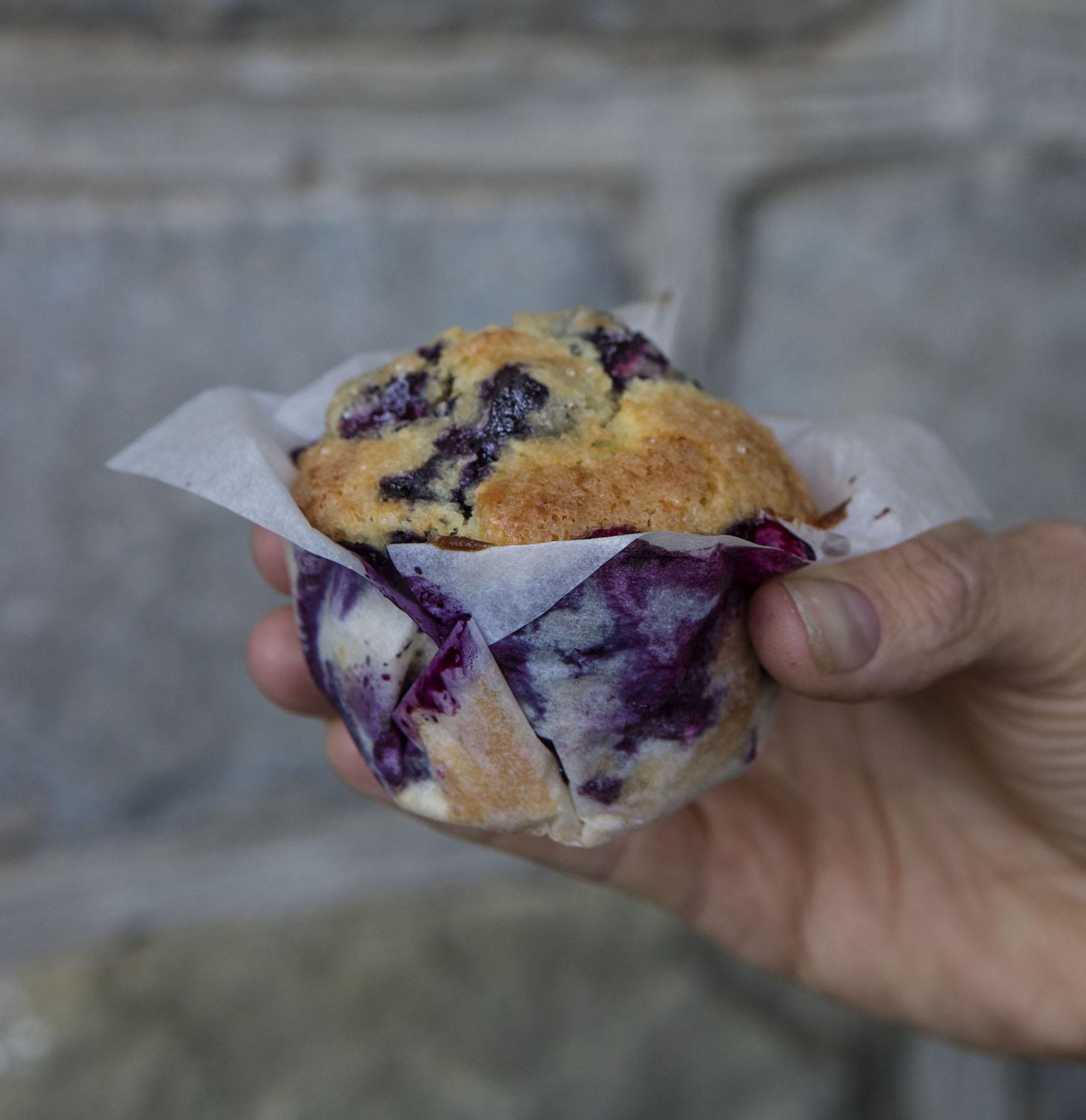 Ricetta Muffin Originale Americana.Muffin Ai Mirtilli Un Americana In Cucina