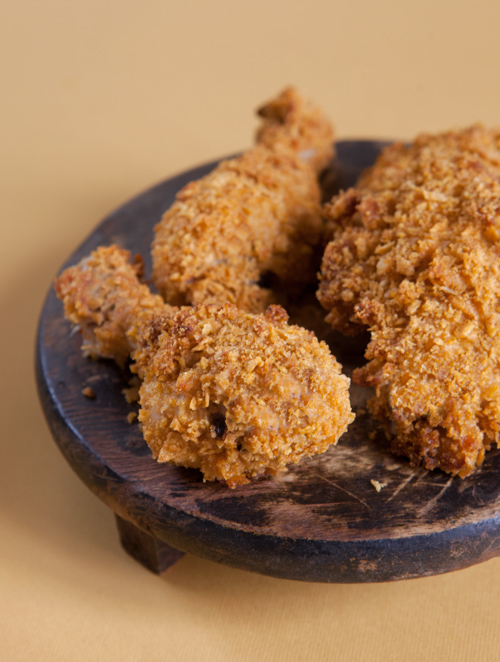 Fake-Fried Cornflake Chicken