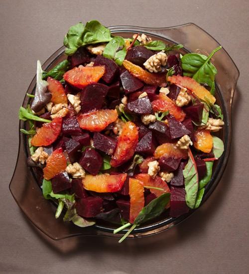 Beet, Blood Orange and Walnut Salad