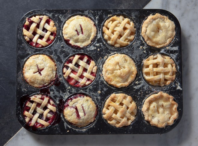 Mixed-berry Mini-pies